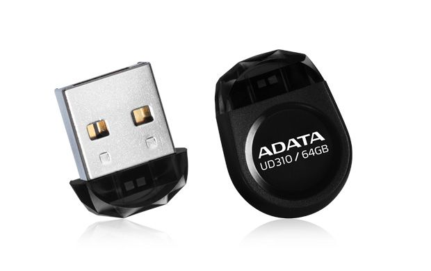 ADATA UD310 64GB FLASH DRIVE BLACK USB2.0 - NANO