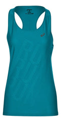 ASICS GRAPHIC TANK ACTIC AQUA