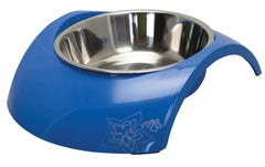 Rogz 2-in-1 Blue Luna Dog Bowl