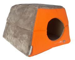 Rogz Catz Multi-Purpose Igloo Bed Medium - Orange
