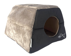 Rogz Catz Multi-Purpose Igloo Bed Medium - Black
