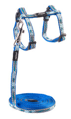 Rogz Catz NightCat Reflective Cat Lead and H-Harness