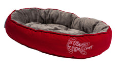 Rogz Catz Snug Podz Tango Fishbone Design on Red