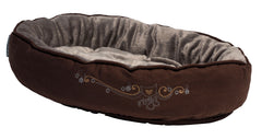 Rogz Catz Snug Podz Bronze Filigree Design on Brown