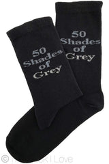 50 Shades of Grey socks