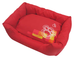 Rogz Spice Podz Dog Bed (Tango Paws on Red Design)