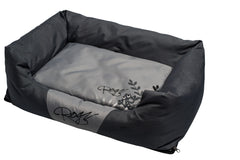 Rogz Spice Podz Dog Bed (Silver Gecko on Grey Design)