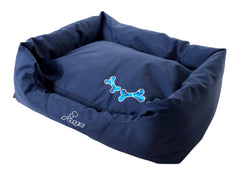 Rogz Spice Podz Dog Bed (Navy Zen Design)