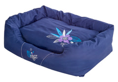 Rogz Spice Podz Dog Bed (Purple Forest Design)