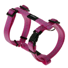 Rogz Utility Small 11mm Nitelife Dog H-Harness, Reflective