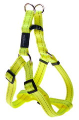 Rogz Utility Large 20mm Fanbelt Step-in Dog Harness, Reflective