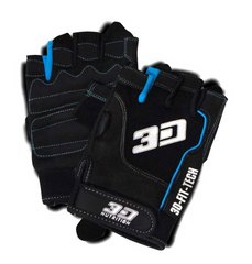 3D NUTRITION ESSENTIAL LIFTING GLOVES [BLACK]