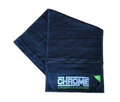 CHROME TOWEL WITH ZIP
