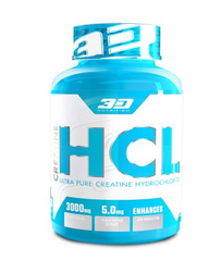 3D NUTRITION CREATINE HCL [150 CAPS]