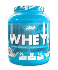 3D NUTRITION WHEY ISOCON [2KG]