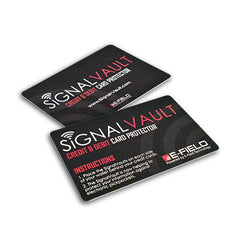 LAUNCH OFFER (2 X CARDS) – SIGNALVAULT CREDIT & DEBIT CARD PROTECTOR
