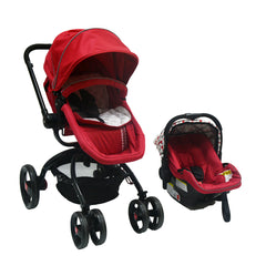 Twister Travel System Red
