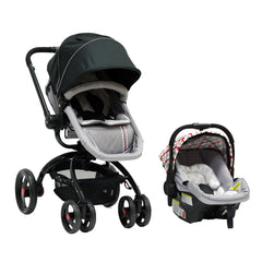 Twister Travel System Grey