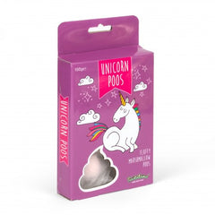 Unicorn Poos - Strawberry Flavour Fluffy Marshmallow Poos