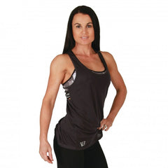 BW ATHLETIC LADIES TANK TOP [CHARCOAL]