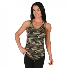 BW ATHLETIC LADIES STRINGER [CAMO]