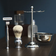 The Cavendish Premium Men's Shaving Kit (4 Piece)
