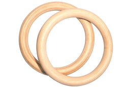 CLASSIC WOODEN GYMNASTIC RINGS