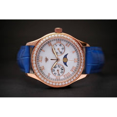 MA 164 Jour Nuit Rosegold Blue Automatic