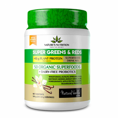 NATURES NUTRITION SUPER GREENS AND REDS [500G]