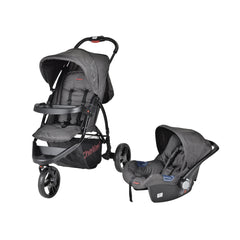 Rocky Travel System Grey