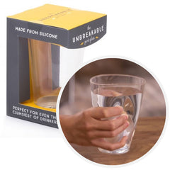 The Unbreakable Silicone Pint Glass