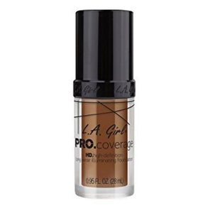 LA Girl Pro Coverage HD Long Wear Illuminating Foundation 28ml - STAR MAKEUP