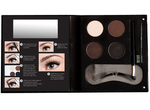 NYX Eyebrow Kit With Stencil - STAR MAKEUP