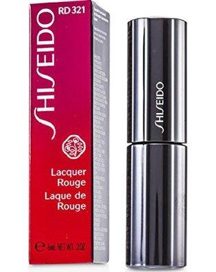 Shiseido Lacquer Rouge RD321 Ebi Lipstick-STAR MAKEUP