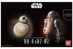 Bandai Star Wars BB-8 & R2-D2  1:12
