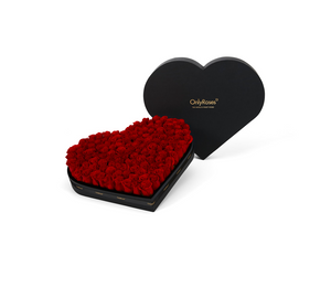 The Luxury Rose Heart
