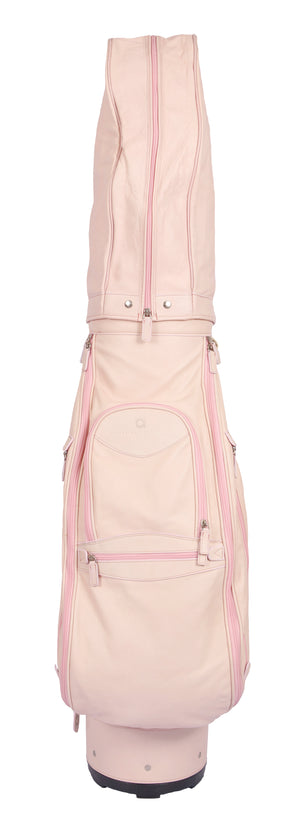 Pink Leather Golf Bag