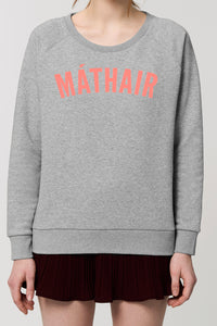 MÁTHAIR sweatshirt BURNT CORAL