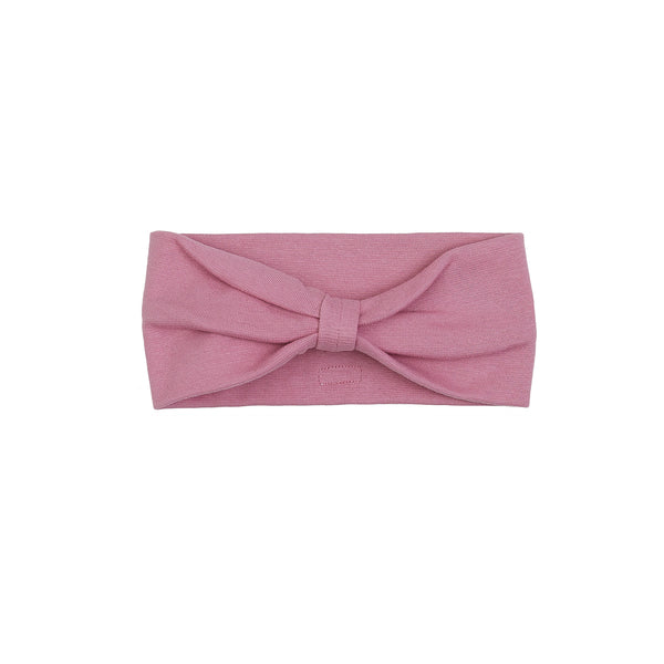 Organic Windproof Cotton Headband Bow 500020-11 C2020