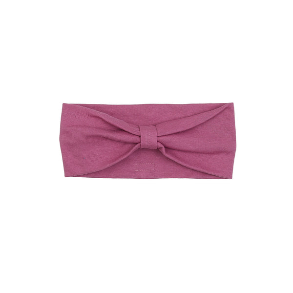 Organic Windproof Cotton Headband Bow 500020-25 C2020