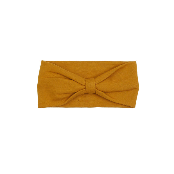 Organic Windproof Cotton Headband Bow 500020-89p C2020