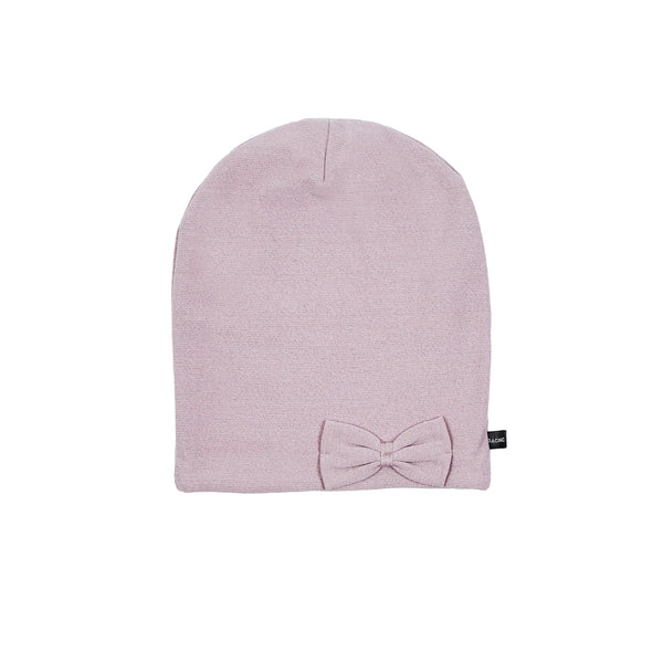 Windproof cotton Beanie with bow 505055-90 SS18