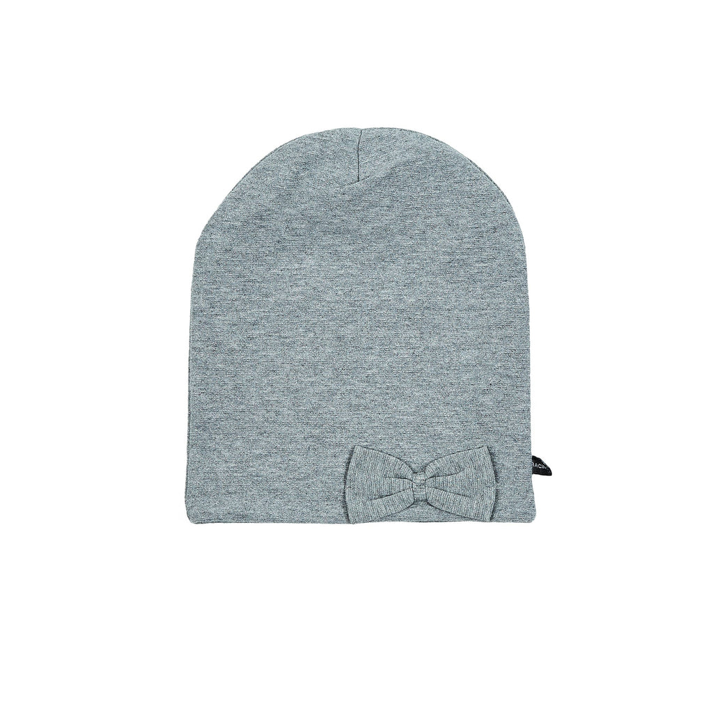 Windproof cotton Beanie with bow 505055-94 SS18
