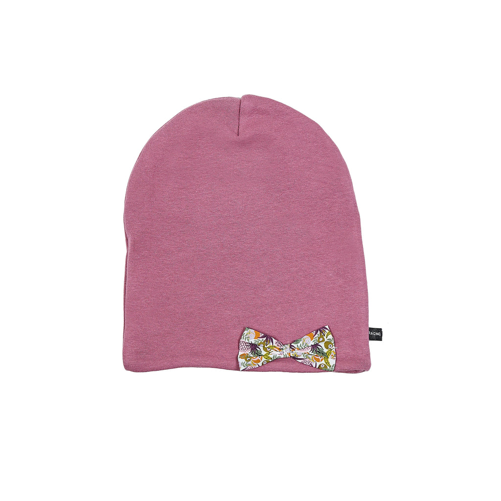 Windproof cotton Beanie with Liberty bow 505455-13 SS18