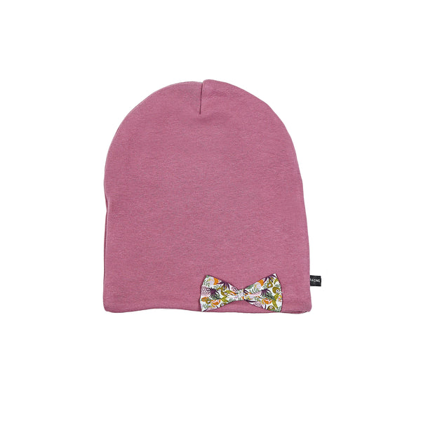 Windproof cotton double layer Beanie with Bow 505455-13