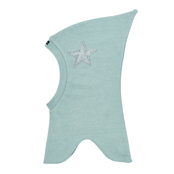 Single Layer Cotton Balaclava with Top and Felt Star 507106-47 SS18