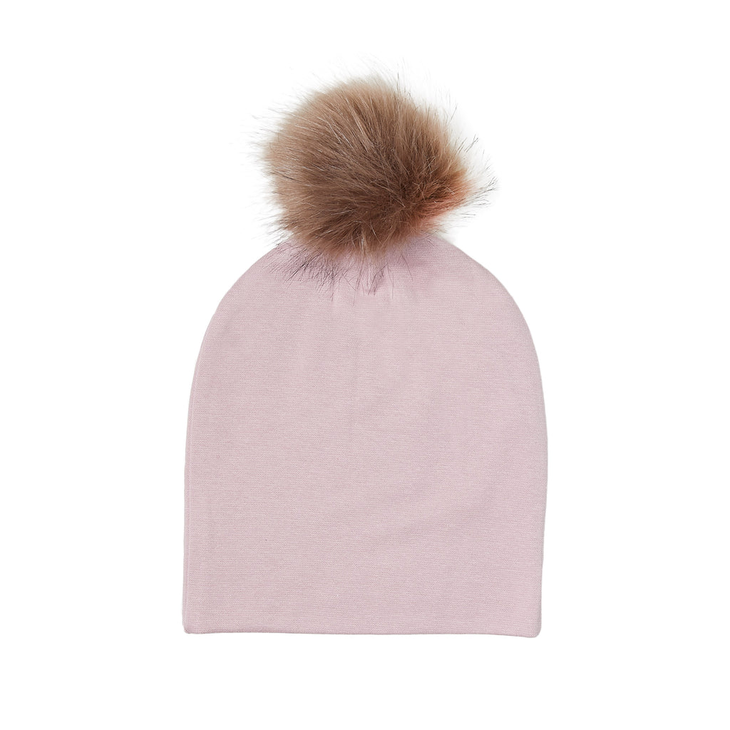 Windproof cotton Beanie with Pom Pom 509055-21 SS19