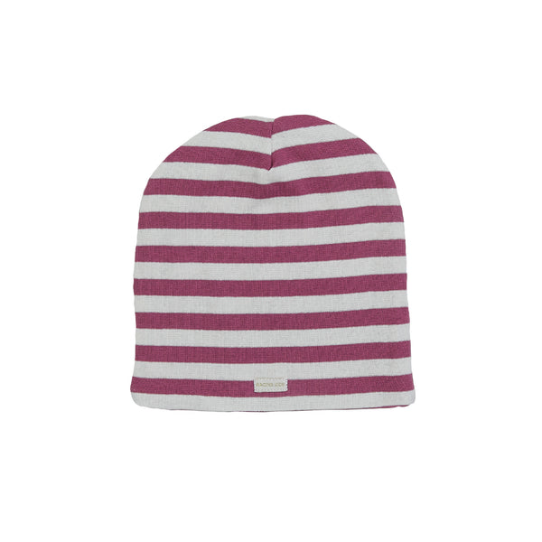 Organic Striped Windproof Cotton Beanie 540055-2501 C2020