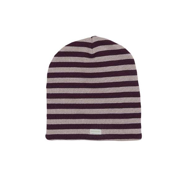 Organic Striped Windproof Cotton Beanie 540055-3192 C2020