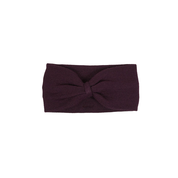 Wool Headband Bow 600020-31 AW18